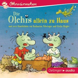 Katharina Vöhringer, Ulrike Rogler, Erhard Dietl: OHRWÜRMCHEN Die Olchis allein zu Haus