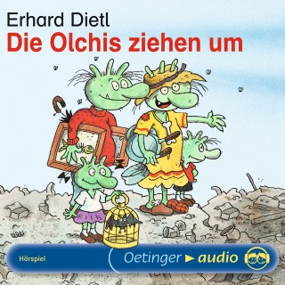 Erhard Dietl: Die Olchis ziehen um