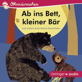 Britta Tecktentrup: Ab ins Bett, kleiner Bär und andere Gute-Nacht-Geschichten