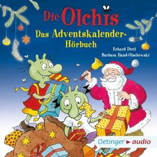 erhard Dietl: Die Olchis. Das Adventskalender-Hörbuch