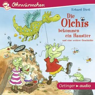 Erhard Dietl: Ohrwürmchen. Die Olchis bekommen ein Haustier und eine weitere Geschichte