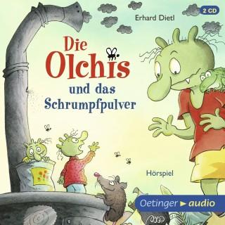 Erhard Dietl: Die Olchis und das Schrumpfpulver