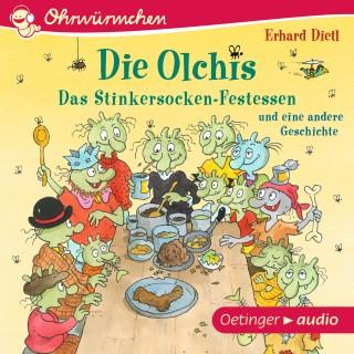 Erhard Dietl: OHRWÜRMCHEN Die Olchis. Das Stinkersocken-Festessen und eine weitere Geschichte