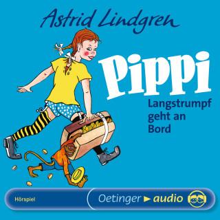 Astrid Lindgren: Pippi Langstrumpf geht an Bord