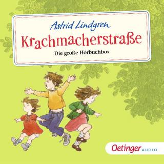 Astrid Lindgren: Krachmacherstraße. Die große Hörbuchbox
