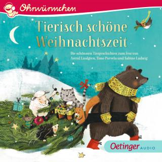 Astrid Lindgren, Sabine Ludwig, Timo Parvela: OHRWÜRMCHEN Tierisch schöne Weihnachtszeit