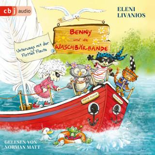 Eleni Livanios: Benny und die Waschbärbande - Unterwegs mit der Flotten Flaute