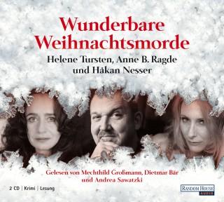 Håkan Nesser, Helene Tursten, Anne B. Ragde: Wunderbare Weihnachtsmorde
