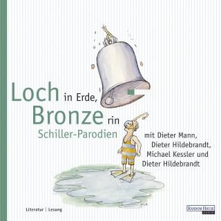 Dieter Hildebrandt: Loch in Erde, Bronze rin