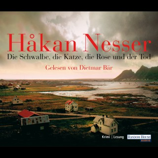 Håkan Nesser: Die Schwalbe, die Katze, die Rose und der Tod