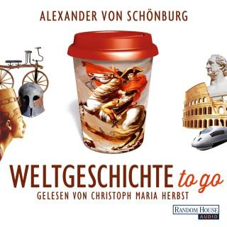 Alexander von Schönburg: Weltgeschichte to go
