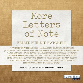Shaun Usher: More Letters of Note