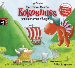 Ingo Siegner: Der kleine Drache Kokosnuss und die starken Wikinger