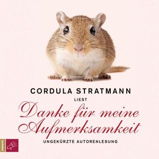 Cordula Stratmann: Danke für meine Aufmerksamkeit