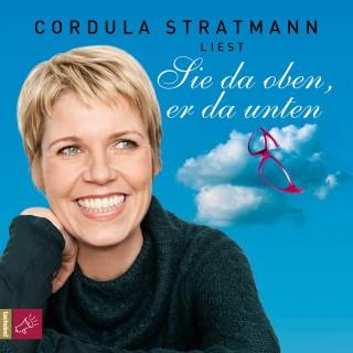 Cordula Stratmann: Sie da oben, er da unten
