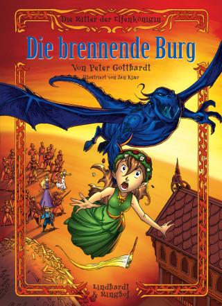 Peter Gotthardt: Die Ritter der Elfenkönigin 3: Die brennende Burg