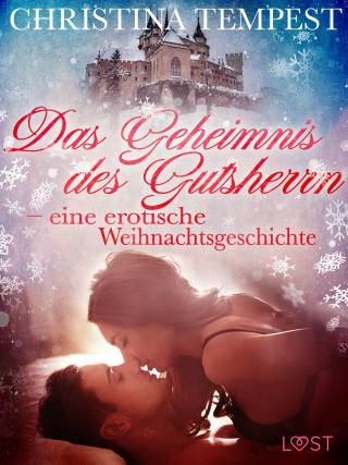 Christina Tempest: Das Geheimnis des Gutsherrn – eine erotische Weihnachtsgeschichte