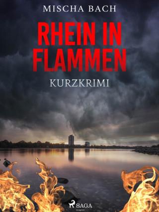 Mischa Bach: Rhein in Flammen - Kurzkrimi