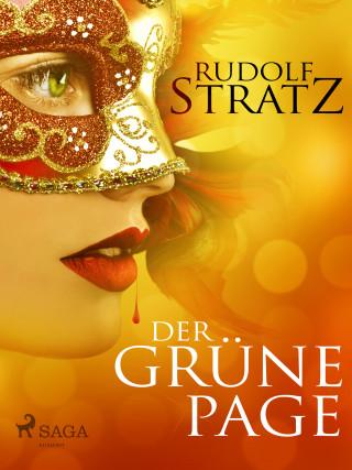 Rudolf Stratz: Der grüne Page