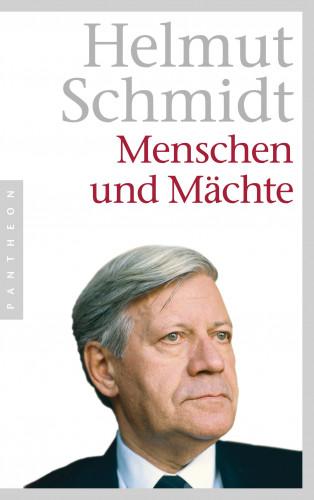 Helmut Schmidt: Menschen und Mächte