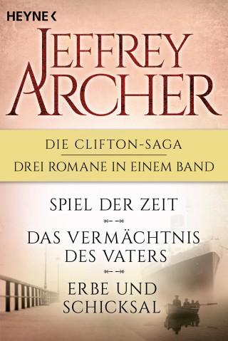 Jeffrey Archer: Die Clifton-Saga 1-3: Spiel der Zeit/Das Vermächtnis des Vaters/ - Erbe und Schicksal (3in1-Bundle)