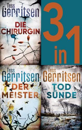 Tess Gerritsen: Rizzoli & Isles Band 1-3: - Die Chirurgin / Der Meister / Todsünde (3in1-Bundle)