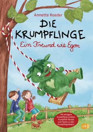 Annette Roeder: Die Krumpflinge - Ein Freund wie Egon