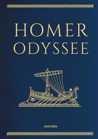 Homer: Homer, Odyssee (Cabra-Lederausgabe)