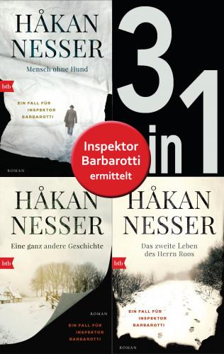 Håkan Nesser: Die Gunnar Barbarotti-Reihe Band 1 bis 3 (3in1-Bundle): Mensch ohne Hund/Eine ganz andere Geschichte/Das zweite Leben des Herrn Roos