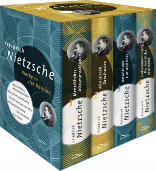 Friedrich Nietzsche: Friedrich Nietzsche - Werke in vier Bänden