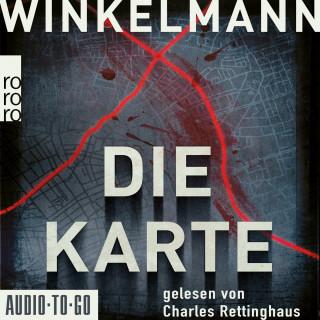 Andreas Winkelmann: Die Karte - Kerner und Oswald, Band 4 (gekürzt)