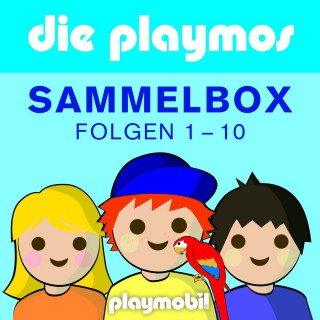 Simon X. Rost, Florian Fickel: Die Playmos - Das Original Playmobil Hörspiel, Boxenset, Folgen 1-10
