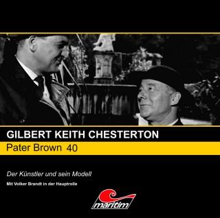 Gilbert Keith Chesterton: Pater Brown, Folge 40: Der Künstler und sein Modell