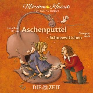 """Brüder Grimm: Die ZEIT-Edition """"Märchen Klassik für kleine Hörer"""" - Aschenputtel und Schneewittchen mit Musik von Gioachino Rossini und Giuseppe Verdi"""