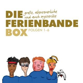 Die Ferienbande: Die große, abenteuerliche und auch mysteriöse Ferienbande Box, Folge 1-6