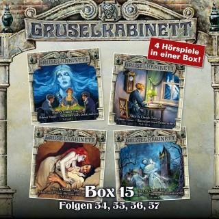 Alice & Claude Askew: Gruselkabinett, Box 15: Folgen 54, 55, 56, 57
