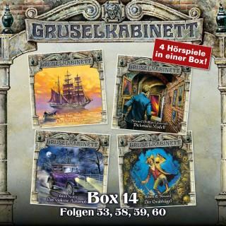 William Hope Hodgson, H.P. Lovecraft, Edith Nesbit, Robert E. Howard: Gruselkabinett, Box 14: Folgen 53, 58, 59, 60