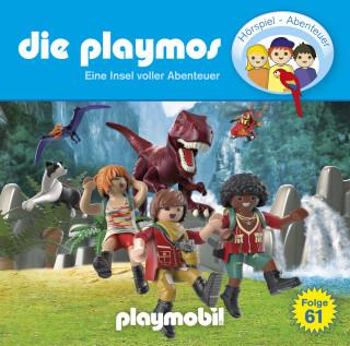 Simon X. Rost, Florian Fickel: Die Playmos - Das Original Playmobil Hörspiel, Folge 61: Eine Insel voller Abenteuer