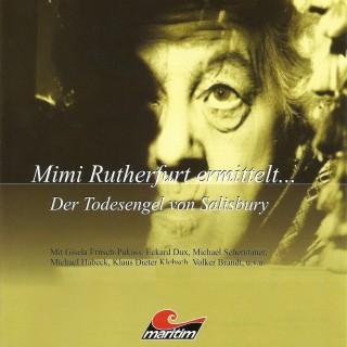 Gabriele Brinkmann: Mimi Rutherfurt, Mimi Rutherfurt ermittelt ..., Folge 1: Der Todesengel von Salisbury