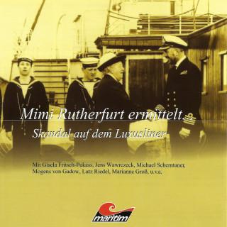 Sylvia Krupicka: Mimi Rutherfurt, Mimi Rutherfurt ermittelt ..., Folge 3: Skandal auf dem Luxusliner
