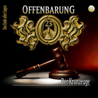 Lars Peter Lueg: Offenbarung 23, Folge 41: Der Kronzeuge
