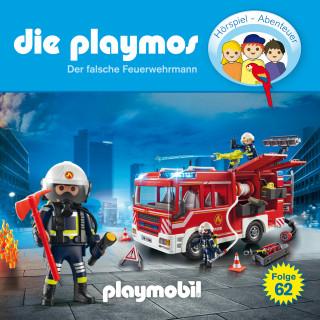David Bredel, Florian Fickel: Die Playmos - Das Original Playmobil Hörspiel, Folge 62: Der falsche Feuerwehrmann