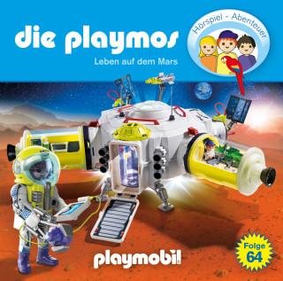 Simon X. Rost, Florian Fickel: Die Playmos - Das Original Playmobil Hörspiel, Folge 64: Leben auf dem Mars