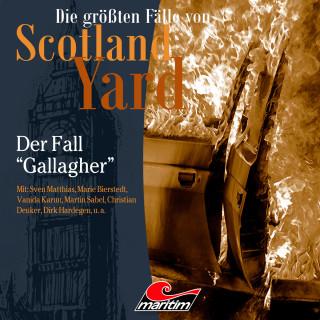 """Paul Burghardt: Die größten Fälle von Scotland Yard, Folge 35: Der Fall """"Gallagher"""""""