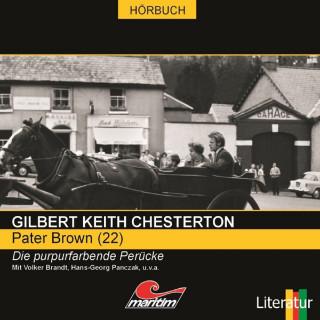 Gilbert Keith Chesterton, Daniela Wakonigg: Pater Brown, Folge 22: Die purpurfarbene Perücke