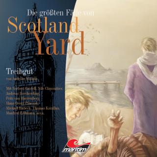 Andreas Masuth: Die größten Fälle von Scotland Yard, Folge 3: Treibgut