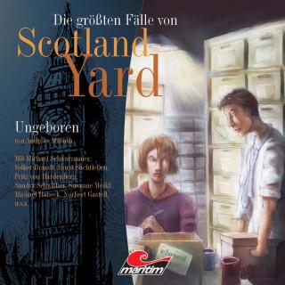 Andreas Masuth: Die größten Fälle von Scotland Yard, Folge 4: Ungeboren