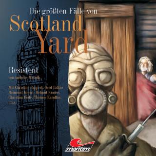 Andreas Masuth: Die größten Fälle von Scotland Yard, Folge 6: Resistent
