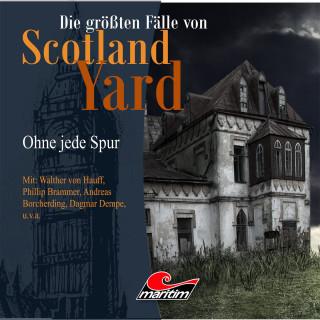 Andreas Masuth: Die größten Fälle von Scotland Yard, Folge 19: Ohne jede Spur