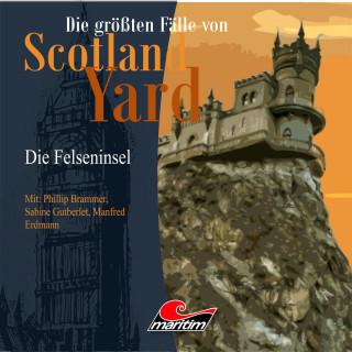 Andreas Masuth: Die größten Fälle von Scotland Yard, Folge 20: Die Felseninsel